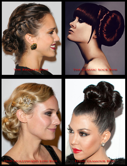 Hollywood Stars Cool Summer Bun Hairstyles