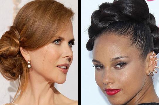 No.5-Red Carpet Beauty Nicole Kidman and No.6 Alicia Keys