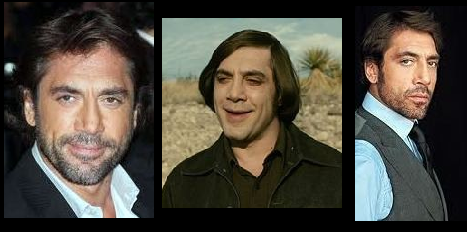 Different hair styles of Javier Bardem