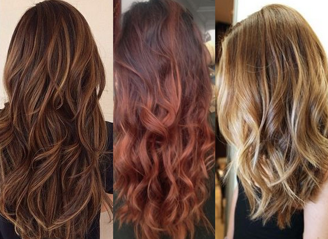 Popular summer hair colors