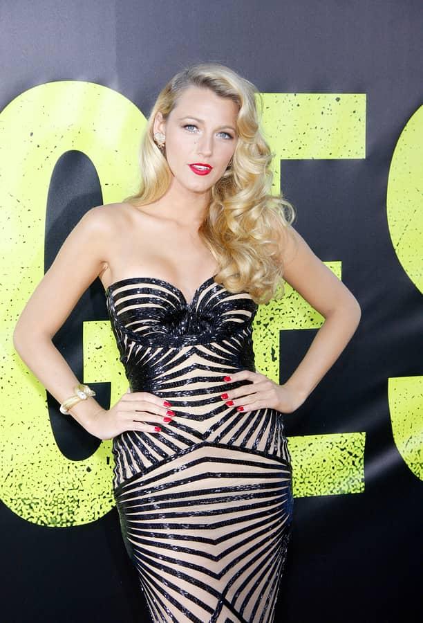 Blake Lively Sexy Dress