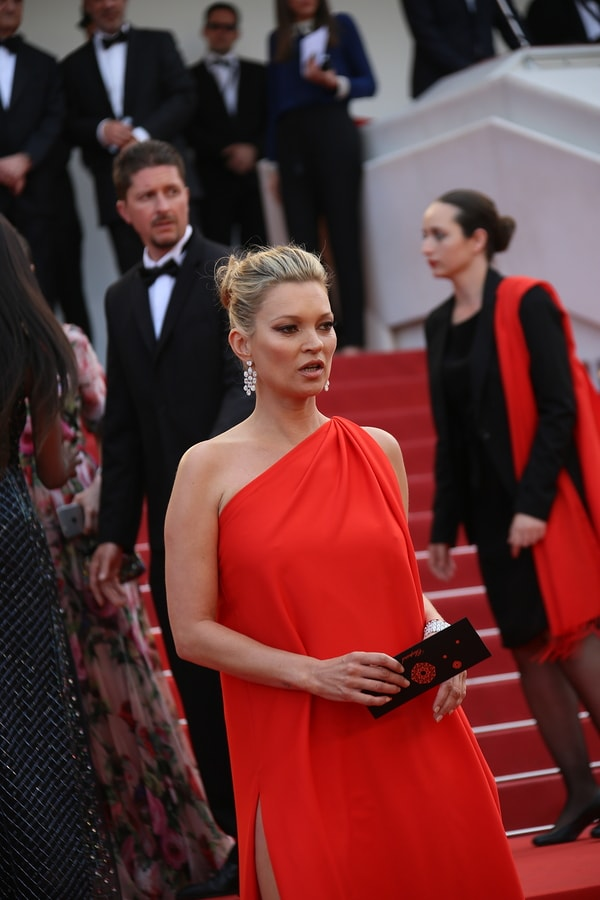 Kate Moss Red Dress