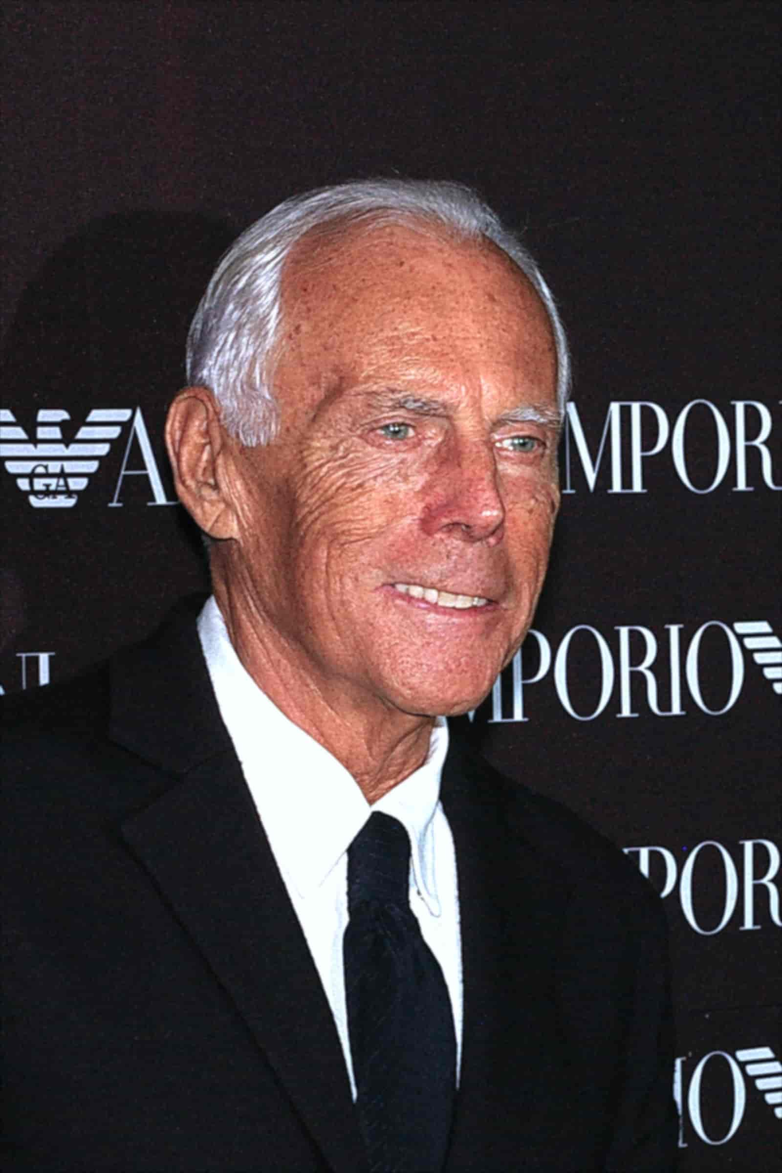 Giorgio Armani Portrait Photo
