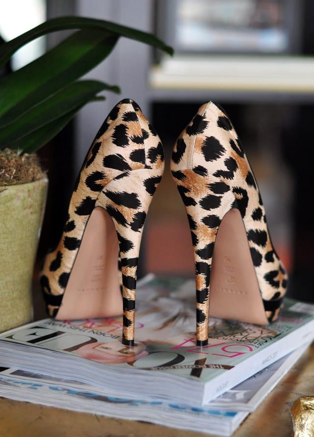 Leopard Footwear