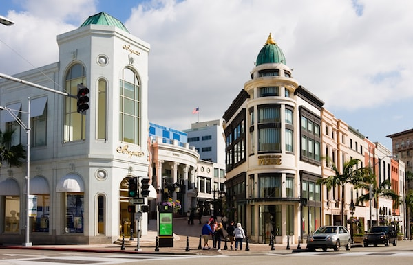 Fashion in Beverly Hills, California